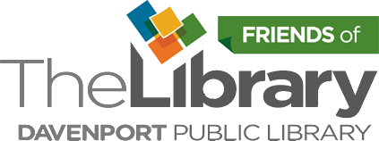 Friends of Davenport Public Library logo